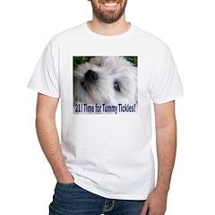 21st Birthday Gifts, Westie T White T-Shirt