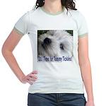 21st Birthday Gifts, Westie T Jr. Ringer T-Shirt