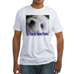 21st Birthday Gifts, Westie T Fitted T-Shirt