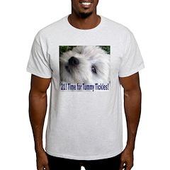 21st Birthday Gifts, Westie T T-Shirt