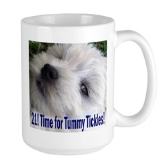 21st Birthday Gifts, Westie T Large Mug
