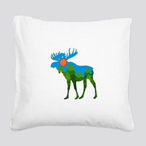 FOREST Square Canvas Pillow