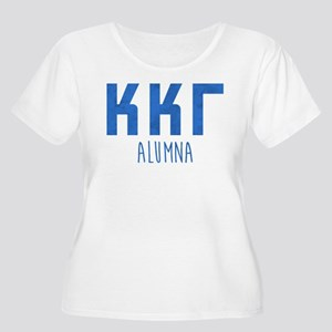 Kappa Kappa G Women's Plus Size Scoop Neck T-Shirt