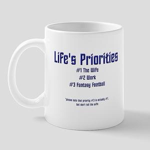 Life's Priorities Mug