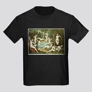 Female Bathers No. 4 Kids Dark T-Shirt