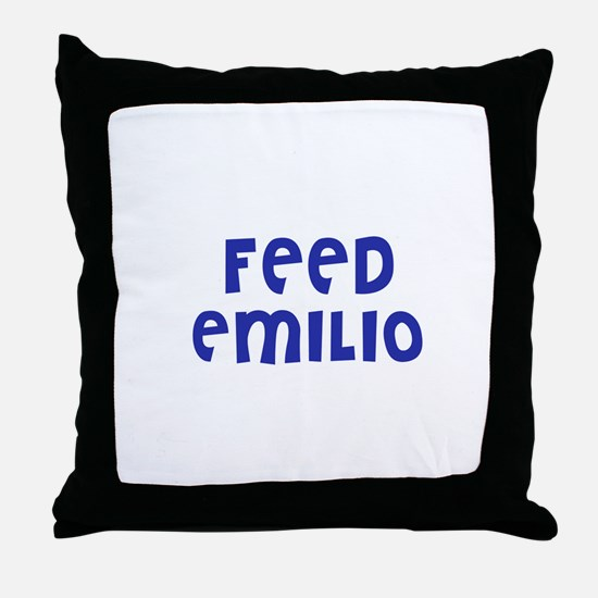Feed Emilio Throw Pillow