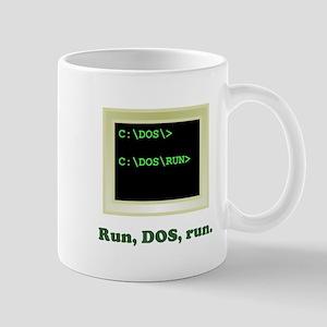 Run, DOS, Run Mug