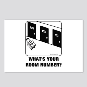 *NEW DESIGN* What's Your Room Number? Postcards (P