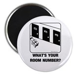 *NEW DESIGN* What's Your Room Number? Magnet