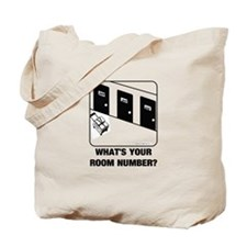 *NEW DESIGN* What's Your Room Number? Tote Bag