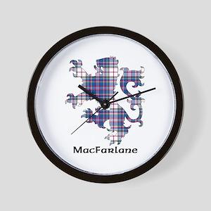 Lion-MacFarlane dress Wall Clock