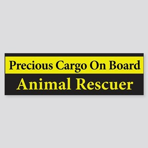 Animal Rescuer BumperSticker