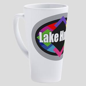 Lake Huron Design 17 oz Latte Mug
