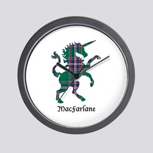 Unicorn-MacFarlane hunting Wall Clock