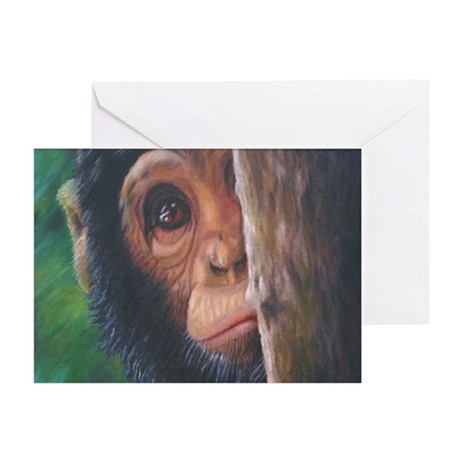 """""""Shy"""" Greeting Cards (Pk of 10)"""