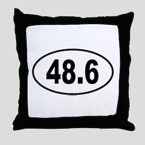 48.6 Throw Pillow