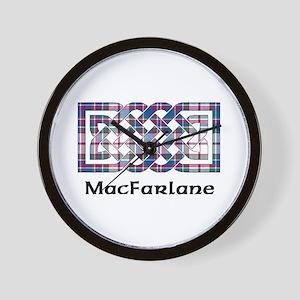 Knot-MacFarlane dress Wall Clock