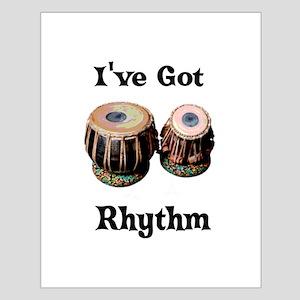 Rhythm Small Poster