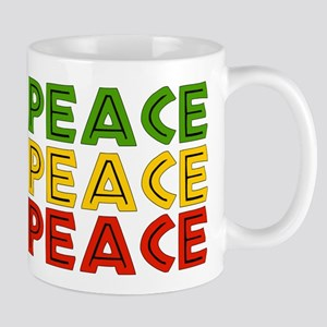 Peace Words 11 oz Ceramic Mug
