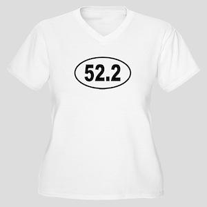 52.2 Womes Plus-Size V-Neck T-Shirt