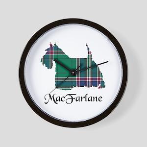 Terrier-MacFarlane hunting Wall Clock