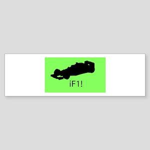 iF1! Bumper Sticker