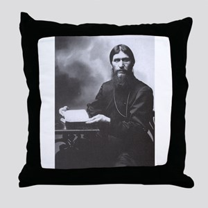 Rasputin Throw Pillow