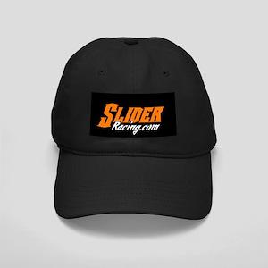 Slider Raicng Logo Black Cap