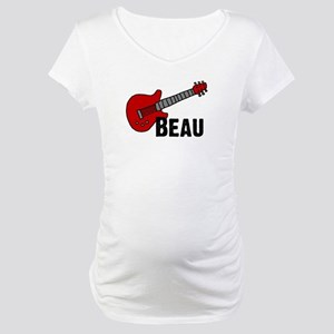 Guitar - Beau Maternity T-Shirt