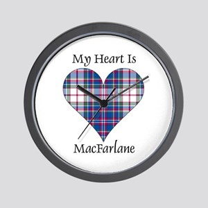 Heart-MacFarlane dress Wall Clock