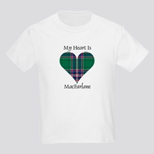 Heart-MacFarlane hunting Kids Light T-Shirt