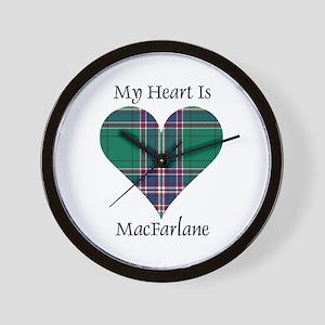 Heart-MacFarlane hunting Wall Clock