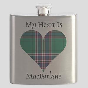 Heart-MacFarlane hunting Flask