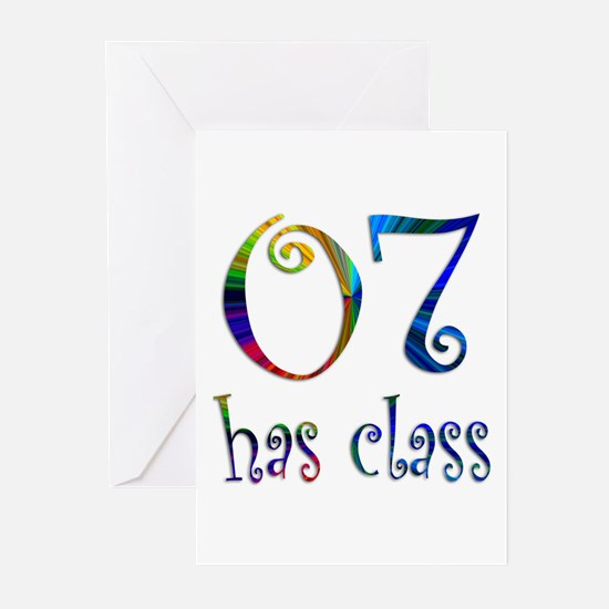 07 Has Class Greeting Cards (Pk of 10)