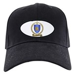 HEBERT Family Crest Black Cap