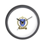 HEBERT Family Crest Wall Clock
