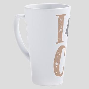 Native Colorado Gifts CO Tent Prid 17 oz Latte Mug