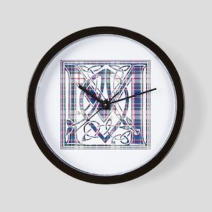 Monogram-MacFarlane dress Wall Clock