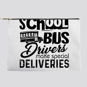 School Bus Driver Makeup Bag