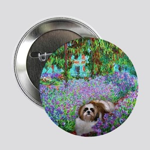 "Shih Tzu Fine Art Meiko 2.25"" Button (10 pack)"