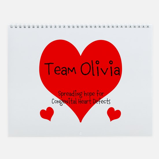 Team Olivia Designs, Wall Calendar
