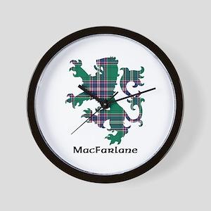 Lion-MacFarlane hunting Wall Clock