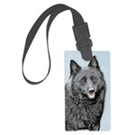 Schipperke Large Luggage Tag
