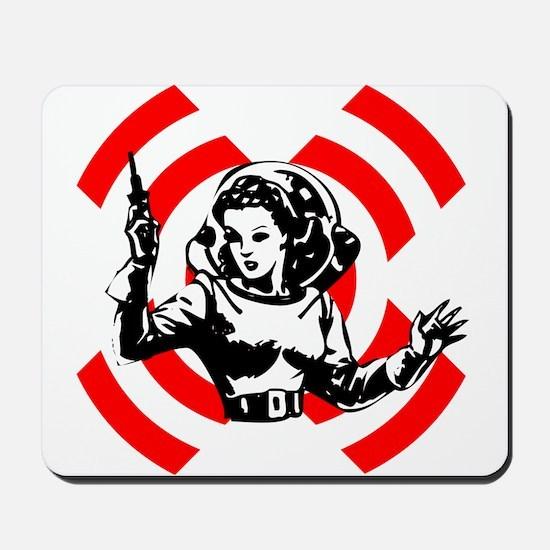 Spacegirl Mousepad