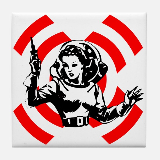 Spacegirl Tile Coaster