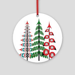 TRIBUTE Round Ornament