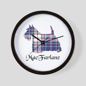 Terrier-MacFarlane dress Wall Clock