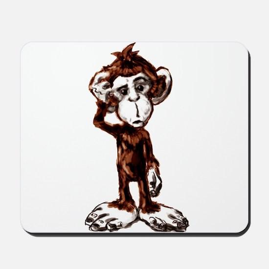 Monkey Friend Mousepad