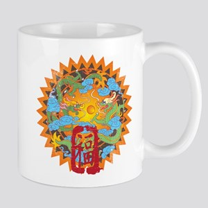 Good Fortune Dragons Mug