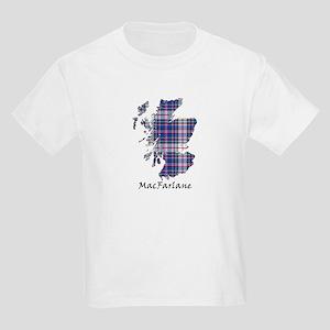 Map-MacFarlane dress Kids Light T-Shirt